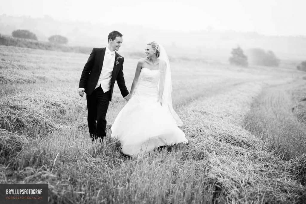 billeder ved bryllup Vestjylland