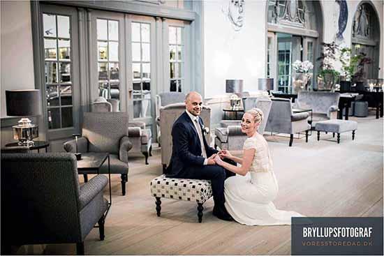 Bryllupsbilleder af bryllupsfotograf