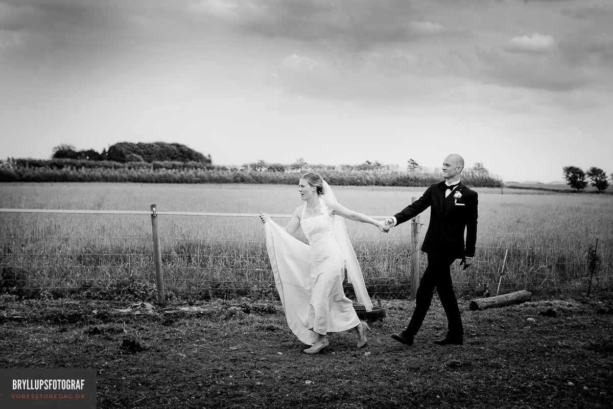 Jomfrubakken bryllup / bryllupsfotografering og billeder af stedet