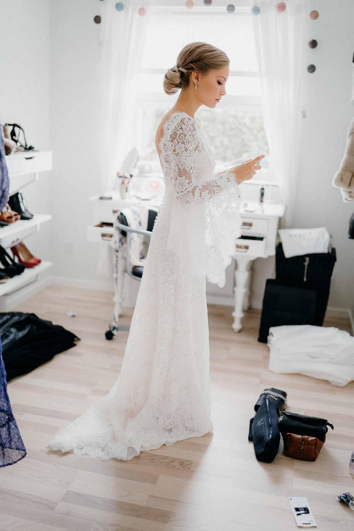 brudens forberedelse Hotel Hjerting