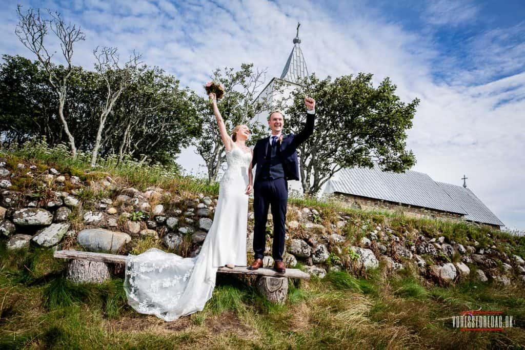 billeder ved kirke bryllup