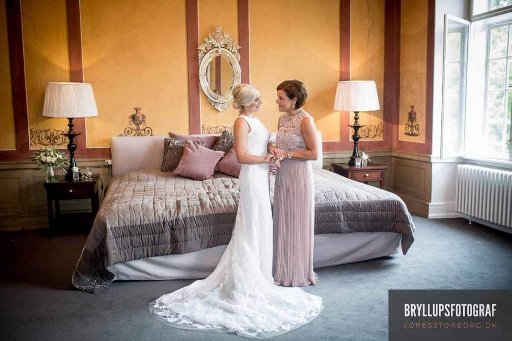 Bryllup på Slottet på Fyn