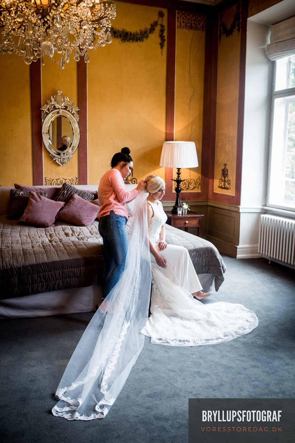 Bryllup på Fyn - Nyborg - Holckenhavn Slot