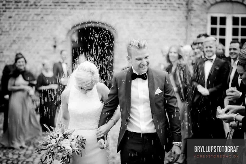 Holckenhavn Slot bryllup og bryllupsfest