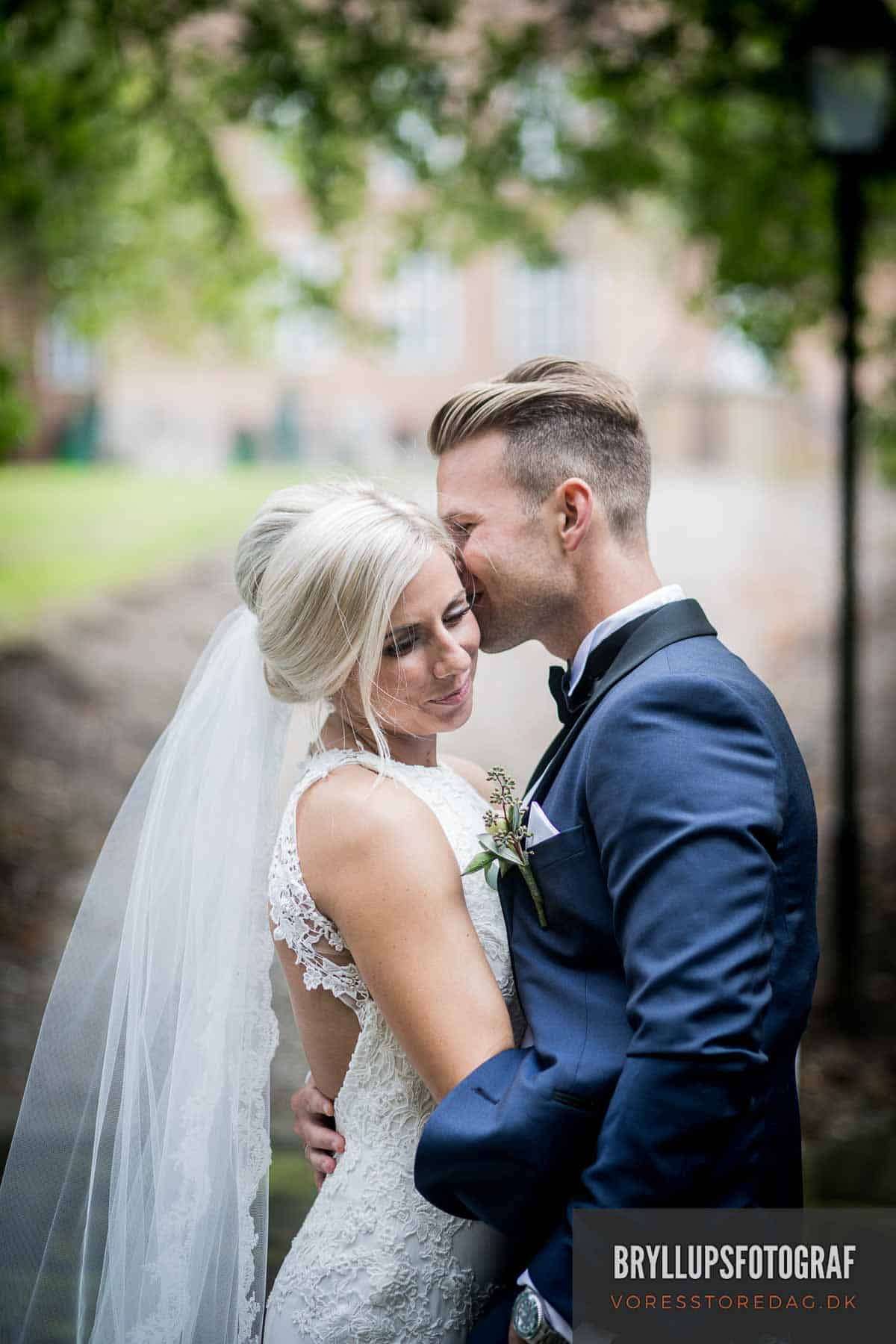Holckenhavn Slotspark og bryllupsportrætter