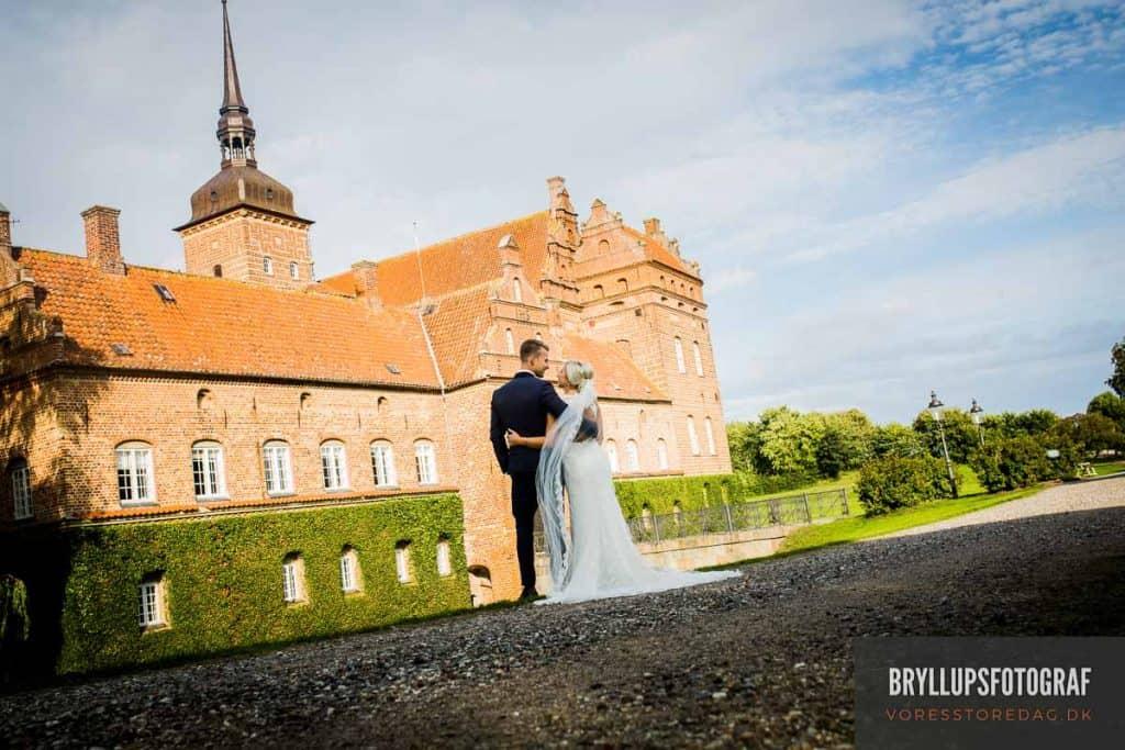 Holckenhavn Slot bryllupsfoto