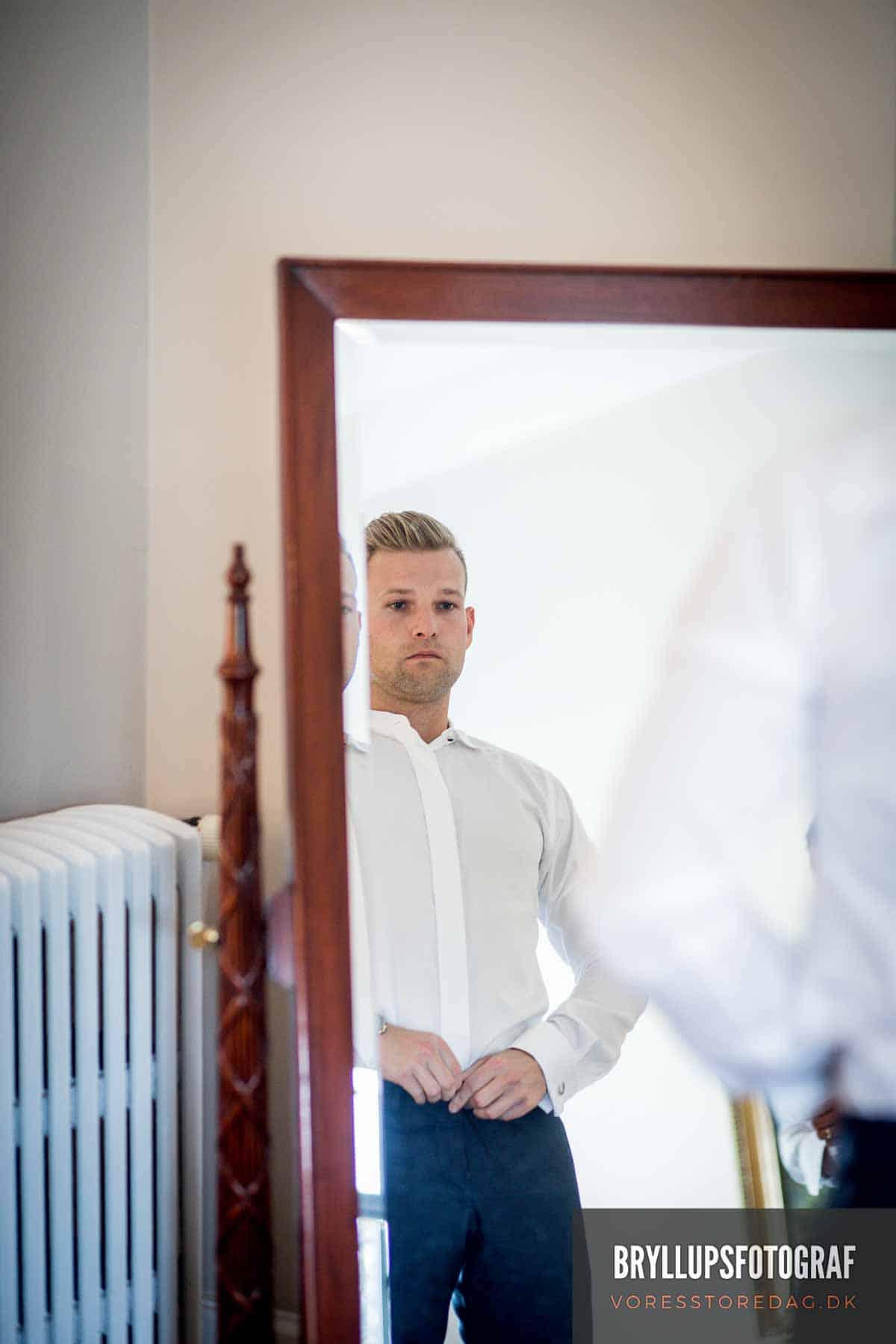 Bryllupsfotografering - Diskret og eksklusiv stil