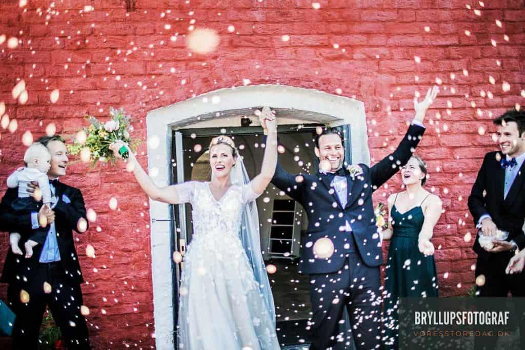 Levering af bryllupsbilleder