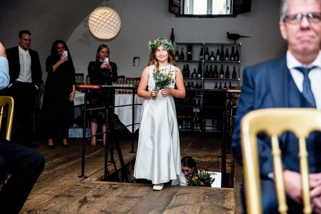 Flere billeder af restaurant 56 grader bryllup