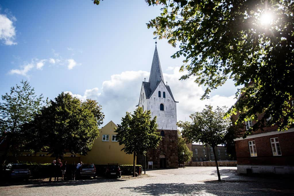 Vielse i Sankt Jacobi kirken i Varde