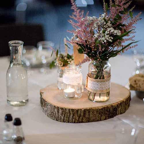 bordpynt bryllupper