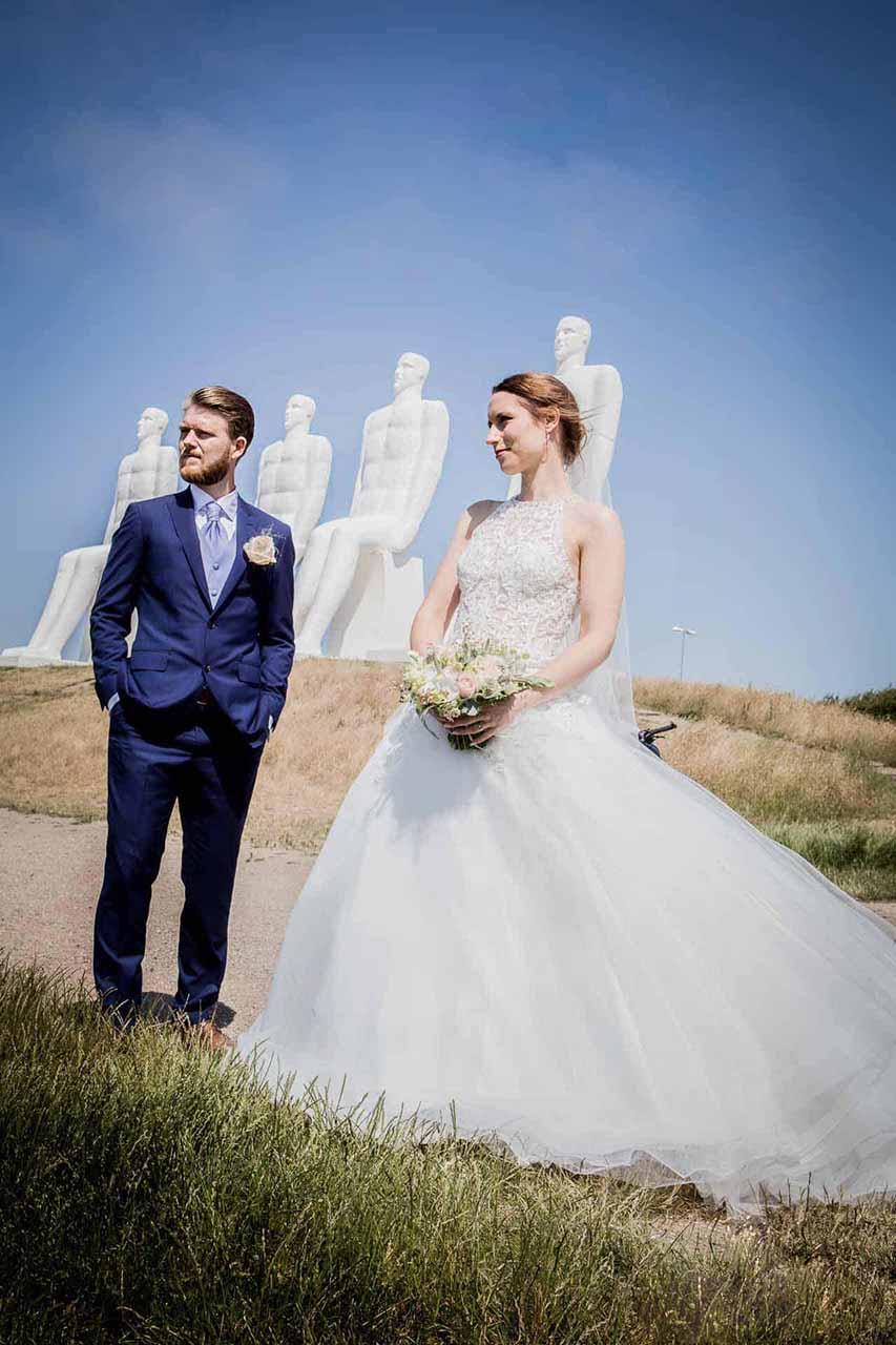 Portrætter bryllup Esbjerg