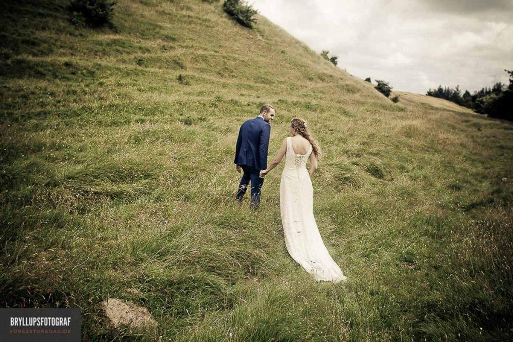 Bryllupsfotograf Sophienberg slot bryllup