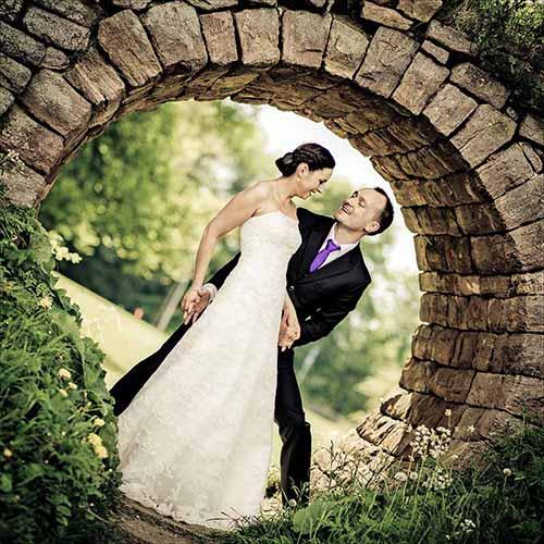 bryllupsfotografer på Sjælland