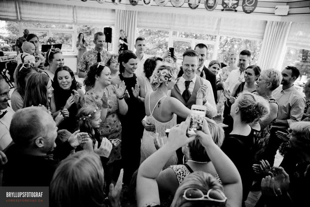 Fotojournalistiske bryllupsbilleder