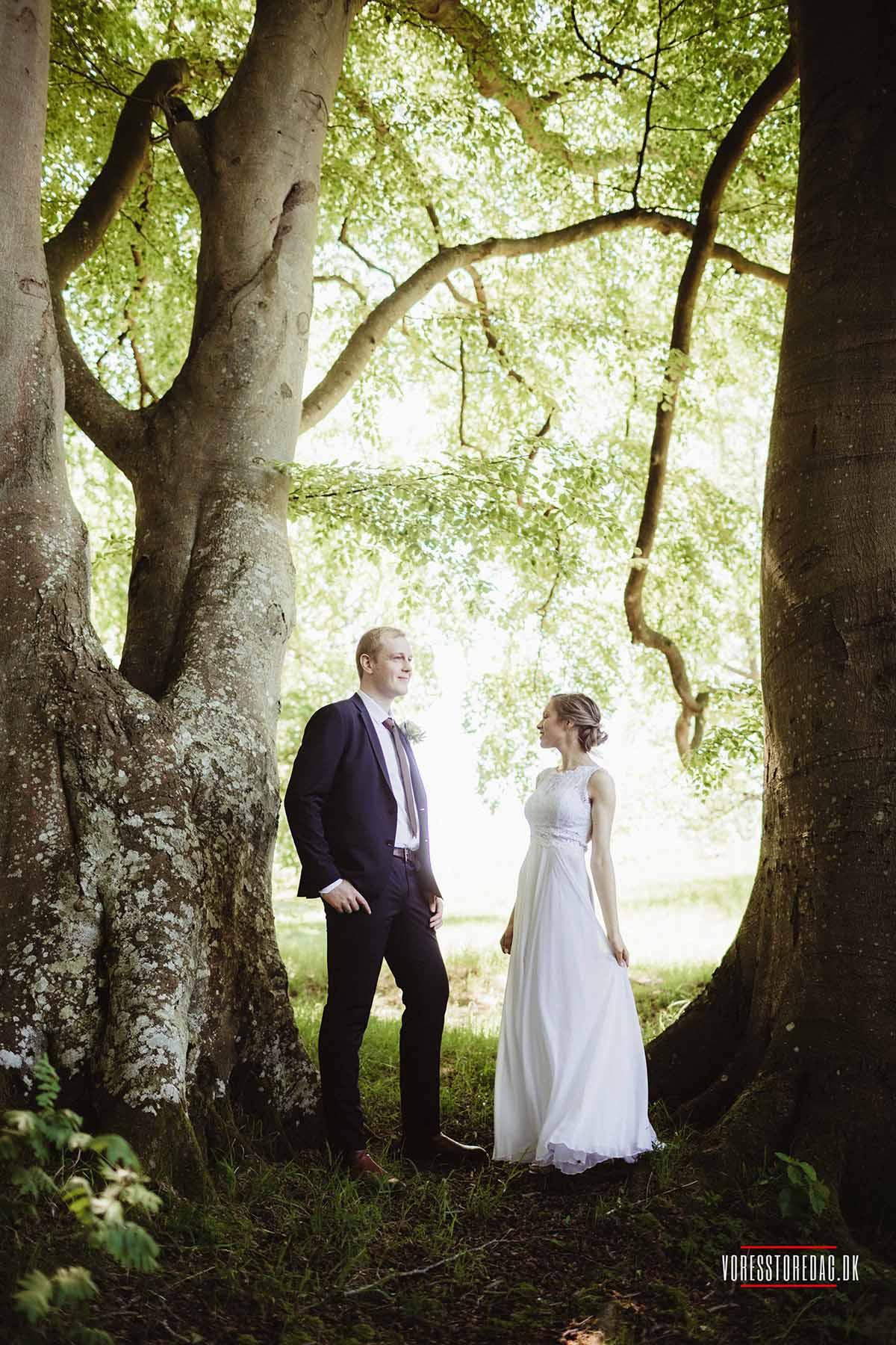 Bryllup med overnatning Østjylland