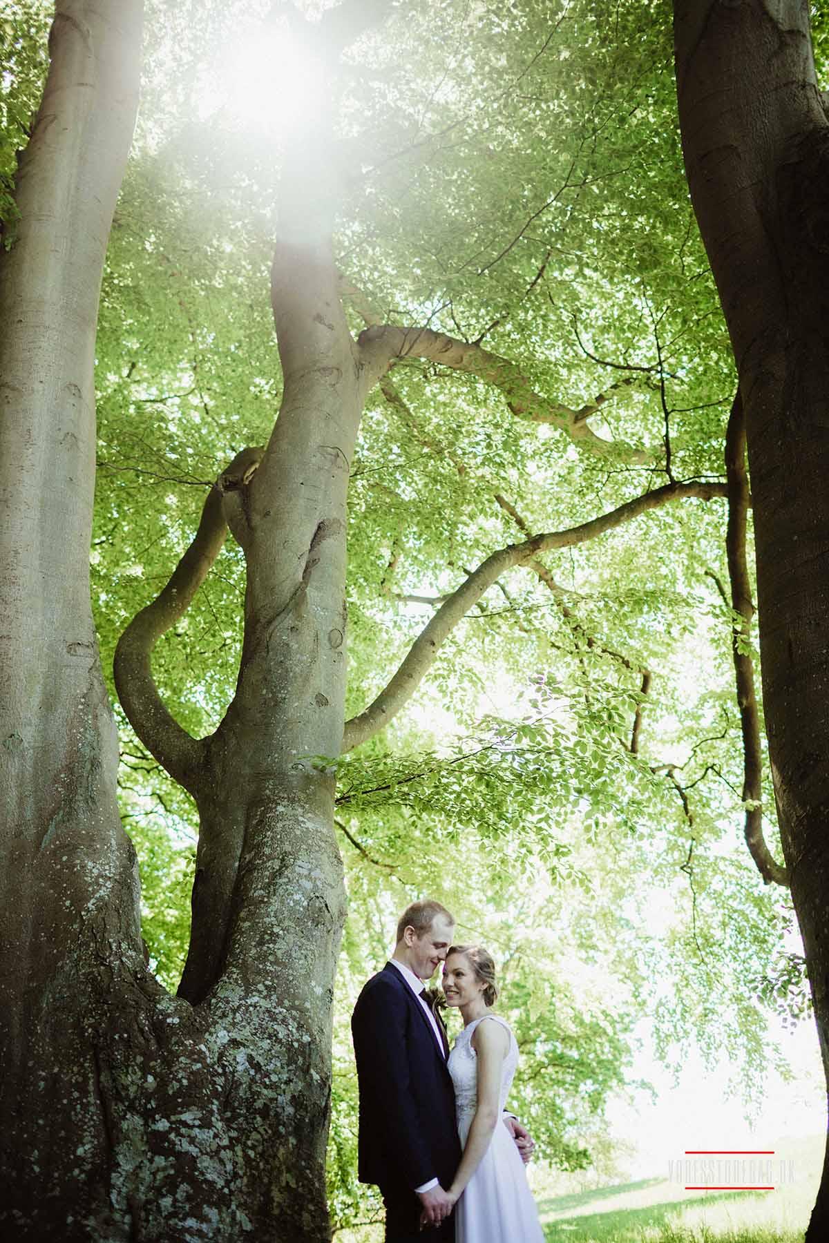 Den store dag Vrå slotshotel bryllup Bryllup Aarhus