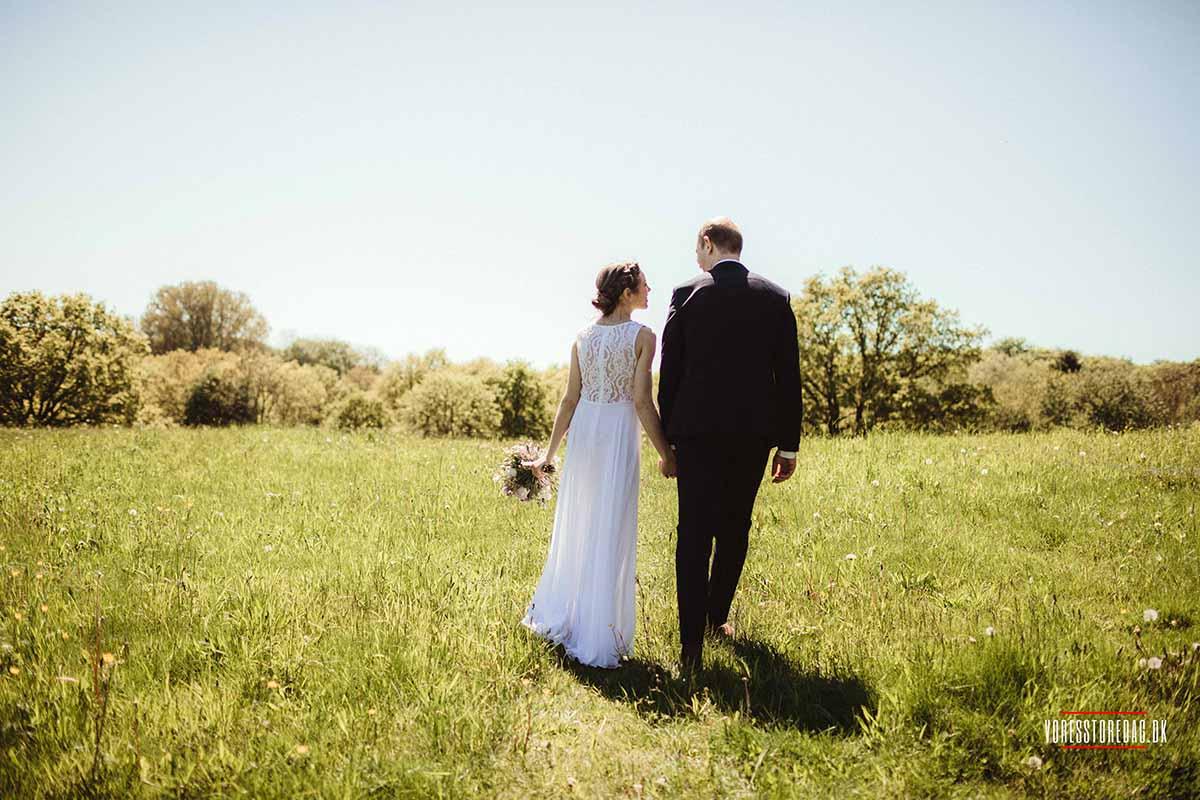 Bryllupsfest ved Skovmøllen