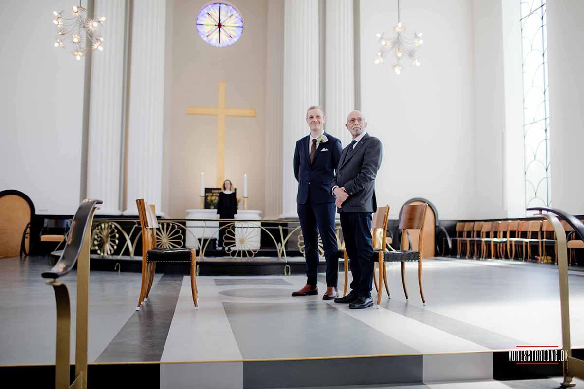 bryllup på Skovmøllen i Aarhus