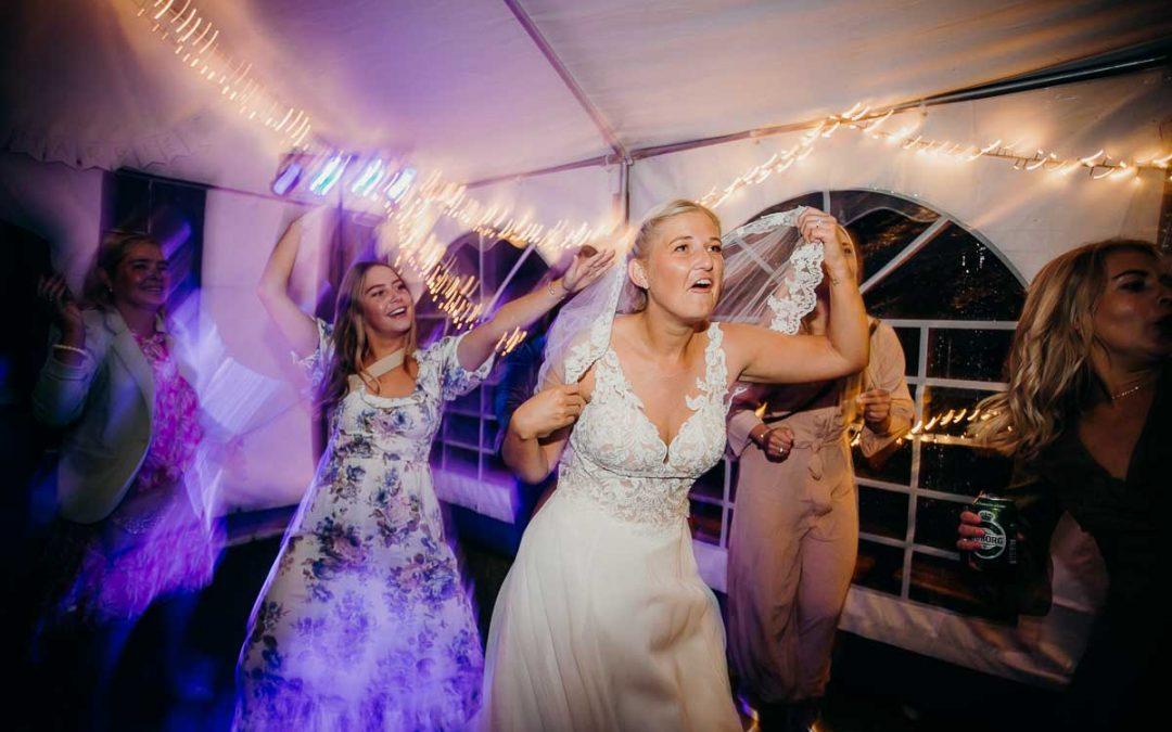 Tidsplansguide for et bryllup